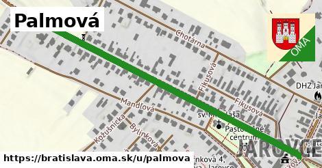 ilustračný obrázok k Palmová, Bratislava