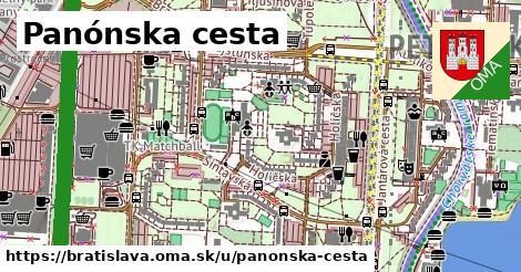 ilustrácia k Panónska cesta, Bratislava - 12,5km