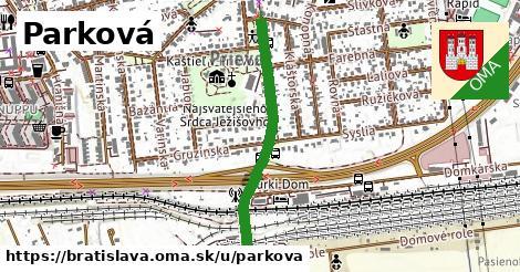 ilustrácia k Parková, Bratislava - 520m