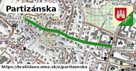 ilustrácia k Partizánska, Bratislava - 511m