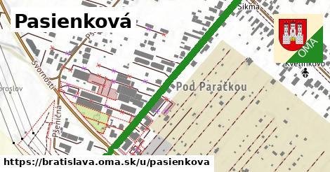 ilustrácia k Pasienková, Bratislava - 552m