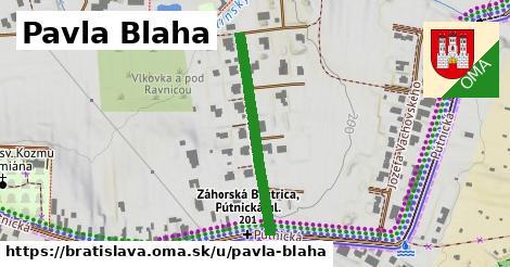 ilustračný obrázok k Pavla Blaha, Bratislava