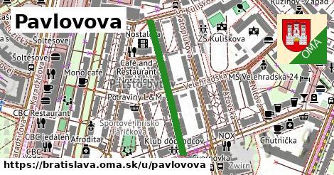 ilustračný obrázok k Pavlovova, Bratislava