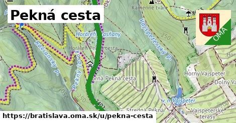 ilustrácia k Pekná cesta, Bratislava - 5,2km