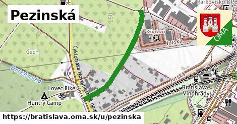 ilustrácia k Pezinská, Bratislava - 353m