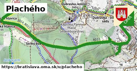 ilustrácia k Plachého, Bratislava - 2,5km
