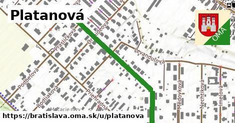 ilustračný obrázok k Platanová, Bratislava