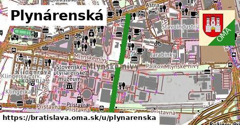 ilustrácia k Plynárenská, Bratislava - 614m
