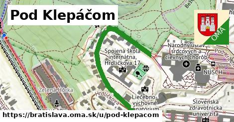ilustračný obrázok k Pod Klepáčom, Bratislava