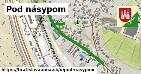 ilustračný obrázok k Pod násypom, Bratislava