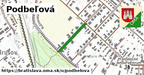 ilustrácia k Podbeľová, Bratislava - 206m