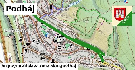 ilustrácia k Podháj, Bratislava - 1,61km