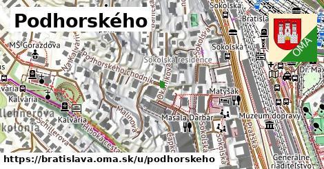 ilustračný obrázok k Podhorského, Bratislava