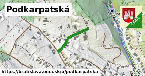 ilustračný obrázok k Podkarpatská, Bratislava