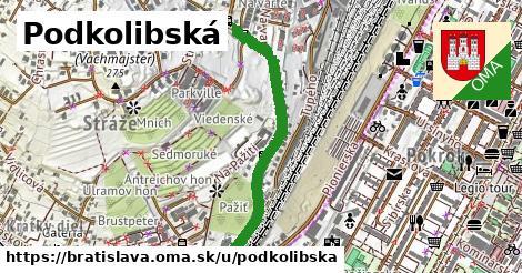 ilustrácia k Podkolibská, Bratislava - 0,76km