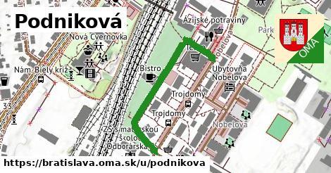 ilustračný obrázok k Podniková, Bratislava