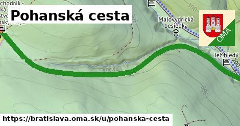 ilustračný obrázok k Pohanská cesta, Bratislava