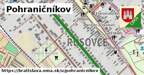 ilustrácia k Pohraničníkov, Bratislava - 625m