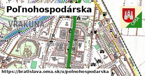 ilustrácia k Poľnohospodárska, Bratislava - 0,86km
