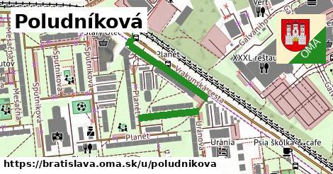 ilustračný obrázok k Poludníková, Bratislava