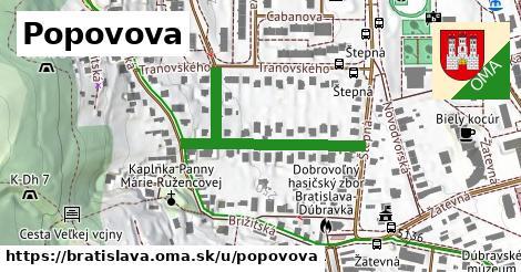 ilustračný obrázok k Popovova, Bratislava