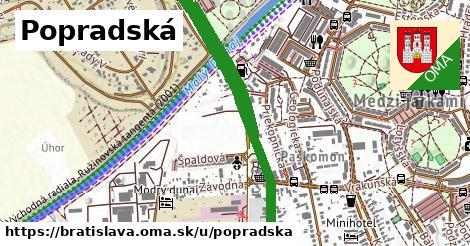 ilustrácia k Popradská, Bratislava - 2,4km