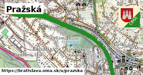 ilustrácia k Pražská, Bratislava - 3,6km