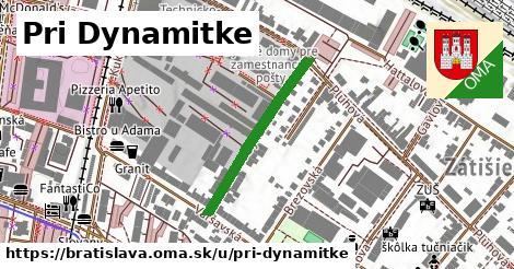 ilustračný obrázok k Pri Dynamitke, Bratislava