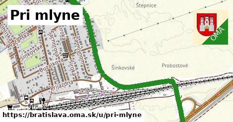 ilustrácia k Pri mlyne, Bratislava - 2,0km