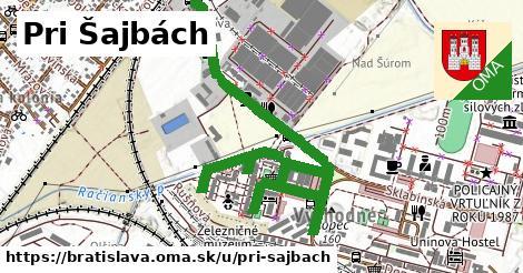 ilustrácia k Pri Šajbách, Bratislava - 1,80km