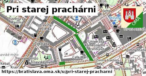 ilustrácia k Pri starej prachárni, Bratislava - 334m