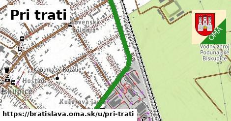 ilustračný obrázok k Pri trati, Bratislava