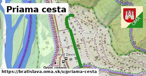 ilustrácia k Priama cesta, Bratislava - 314m
