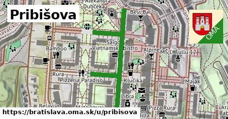 ilustračný obrázok k Pribišova, Bratislava