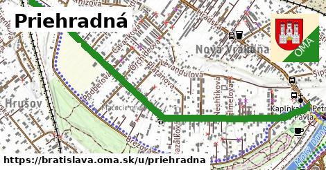 ilustračný obrázok k Priehradná, Bratislava