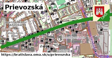 ilustrácia k Prievozská, Bratislava - 3,6km