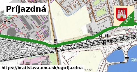 ilustračný obrázok k Príjazdná, Bratislava