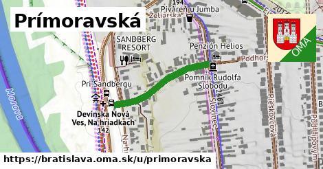 ilustrácia k Prímoravská, Bratislava - 244m