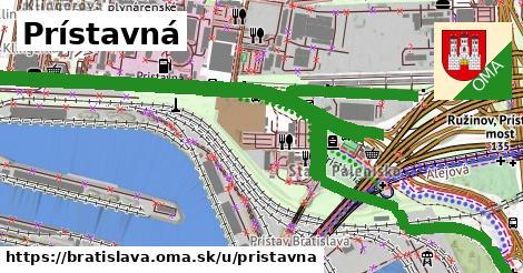 ilustrácia k Prístavná, Bratislava - 5,4km
