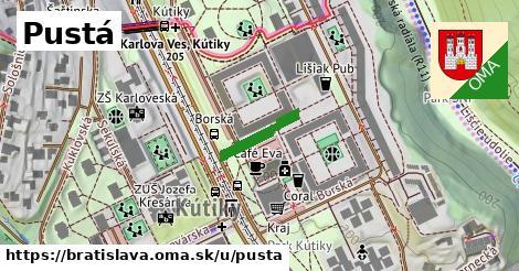 ilustrácia k Pustá, Bratislava - 130m