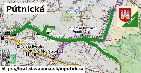 ilustračný obrázok k Pútnická, Bratislava