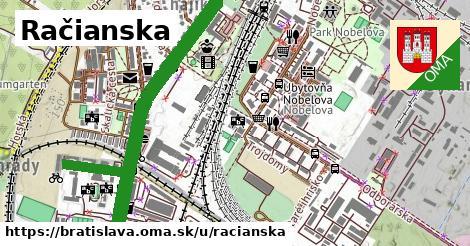 ilustrácia k Račianska, Bratislava - 11,5km