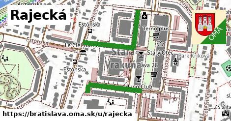 ilustračný obrázok k Rajecká, Bratislava