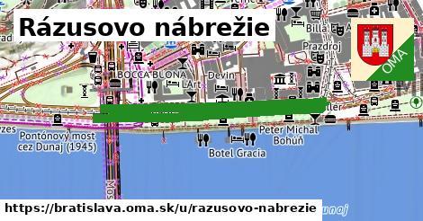 ilustrácia k Rázusovo nábrežie, Bratislava - 0,82km