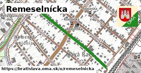 ilustrácia k Remeselnícka, Bratislava - 494m