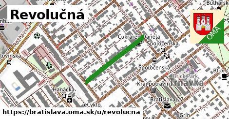 ilustrácia k Revolučná, Bratislava - 242m
