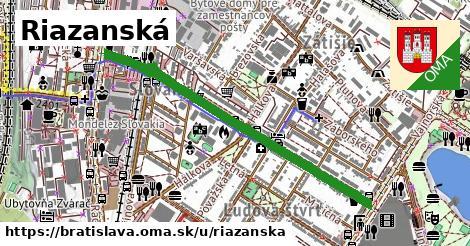 ilustračný obrázok k Riazanská, Bratislava