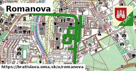 ilustrácia k Romanova, Bratislava - 2,2km
