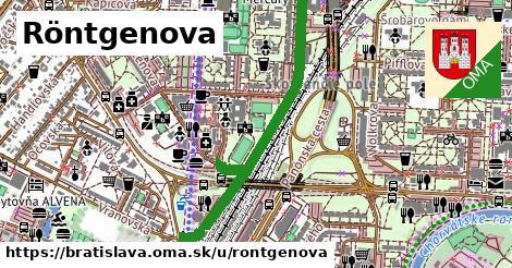 ilustračný obrázok k Röntgenova, Bratislava