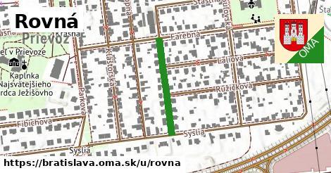 ilustrácia k Rovná, Bratislava - 223m